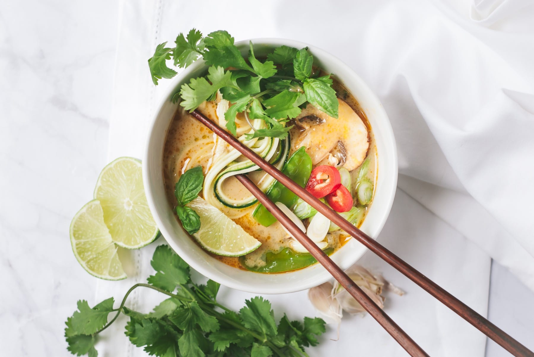 Curry Zoodle Soup