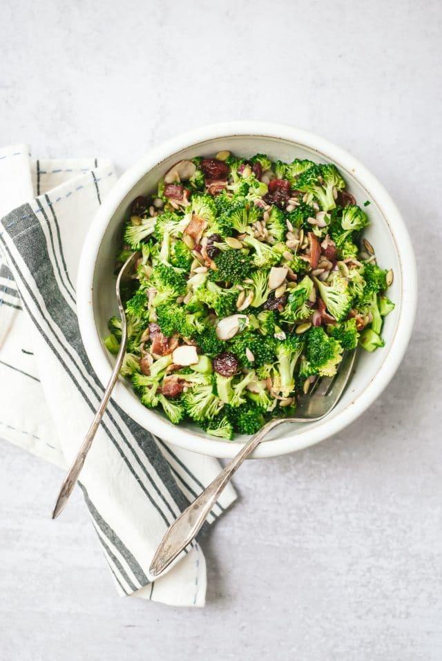 Seed & Nutty Broccoli Salad