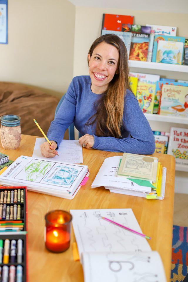 homeschool year review first grade