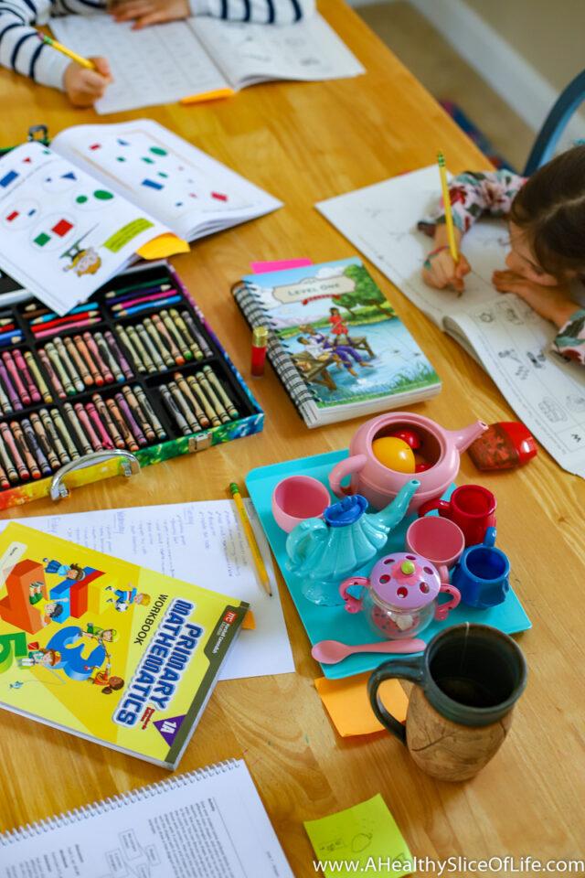 Homeschooling kids