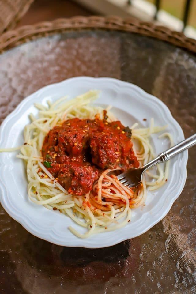 palmini and meatballs
