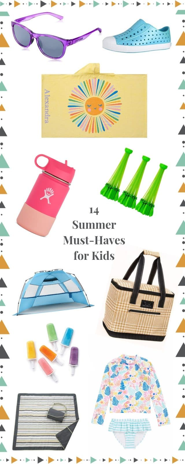 summer essentials for kids and moms