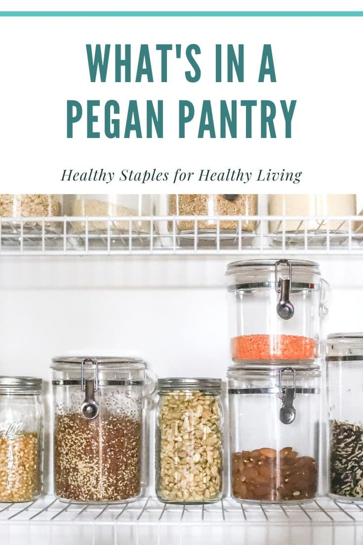 pegan pantry staples
