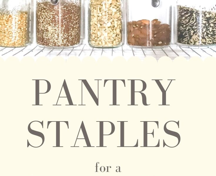 pegan diet pantry staples