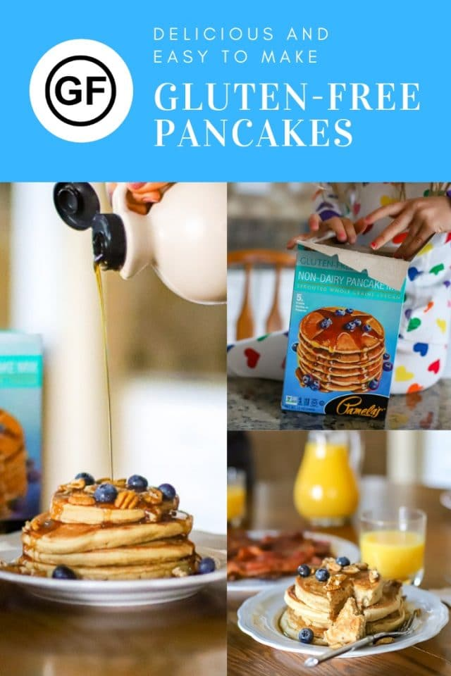 Delicious and easy to make gluten-free pancakes