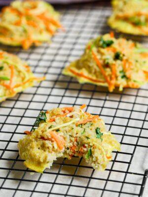 BLW quinoa biscuit recipe