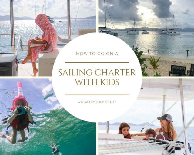 sailing charter with kids
