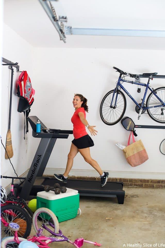 garage treadmill