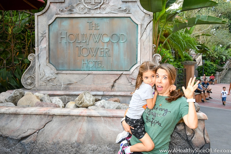Tower of Terror with a five year old