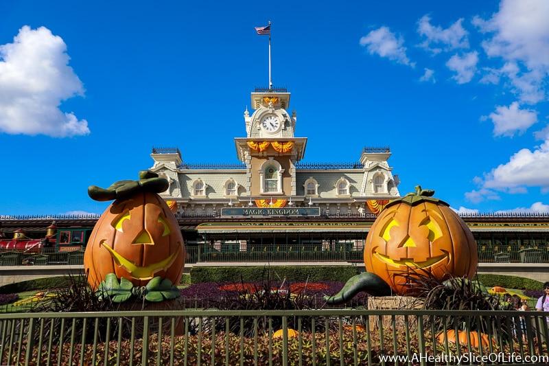Disney World at Halloween