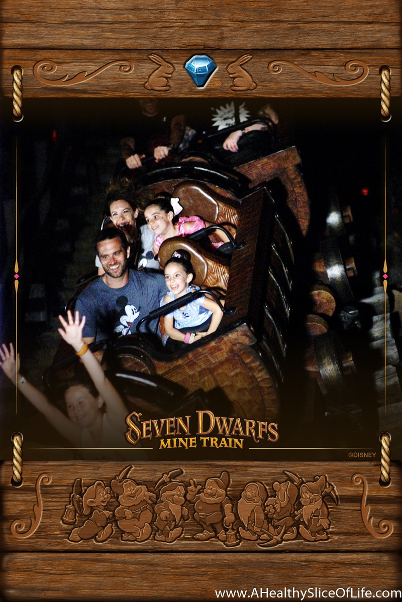 seven drawfs mine train Mickey's Not So Scary Halloween Party