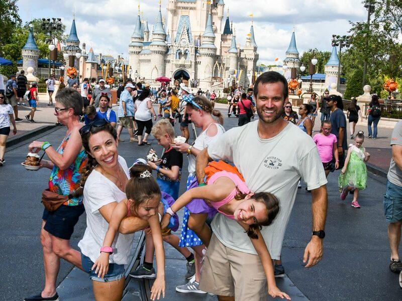 craziness of Disney World with kids
