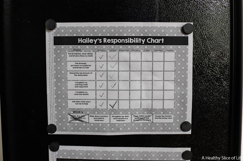 age 8 responsibilities