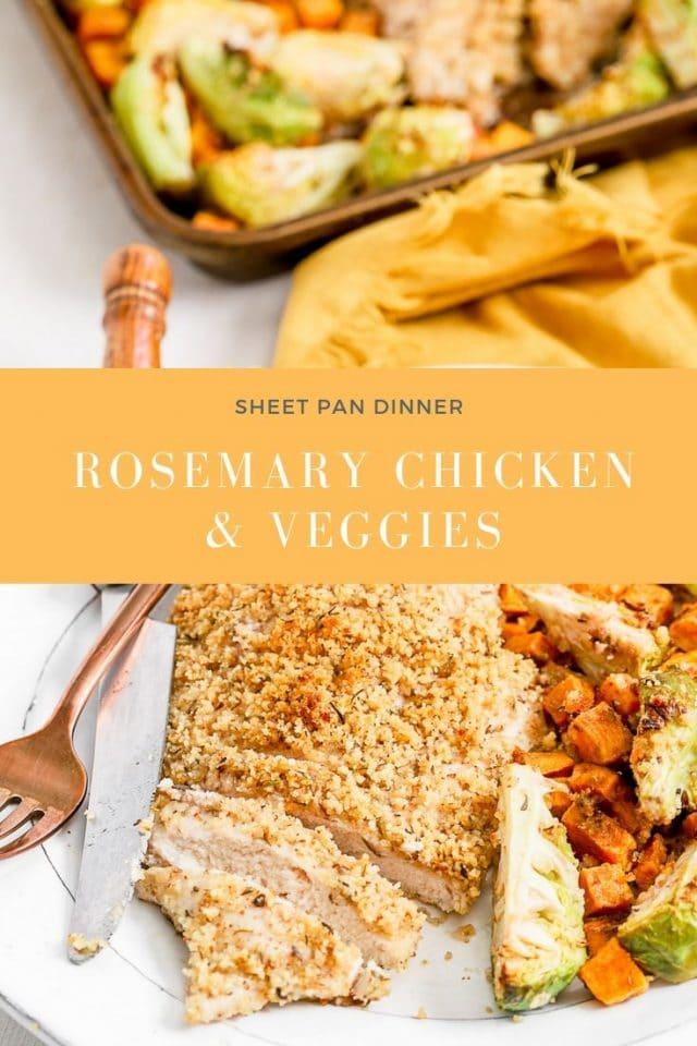 rosemary chicken sheet pan
