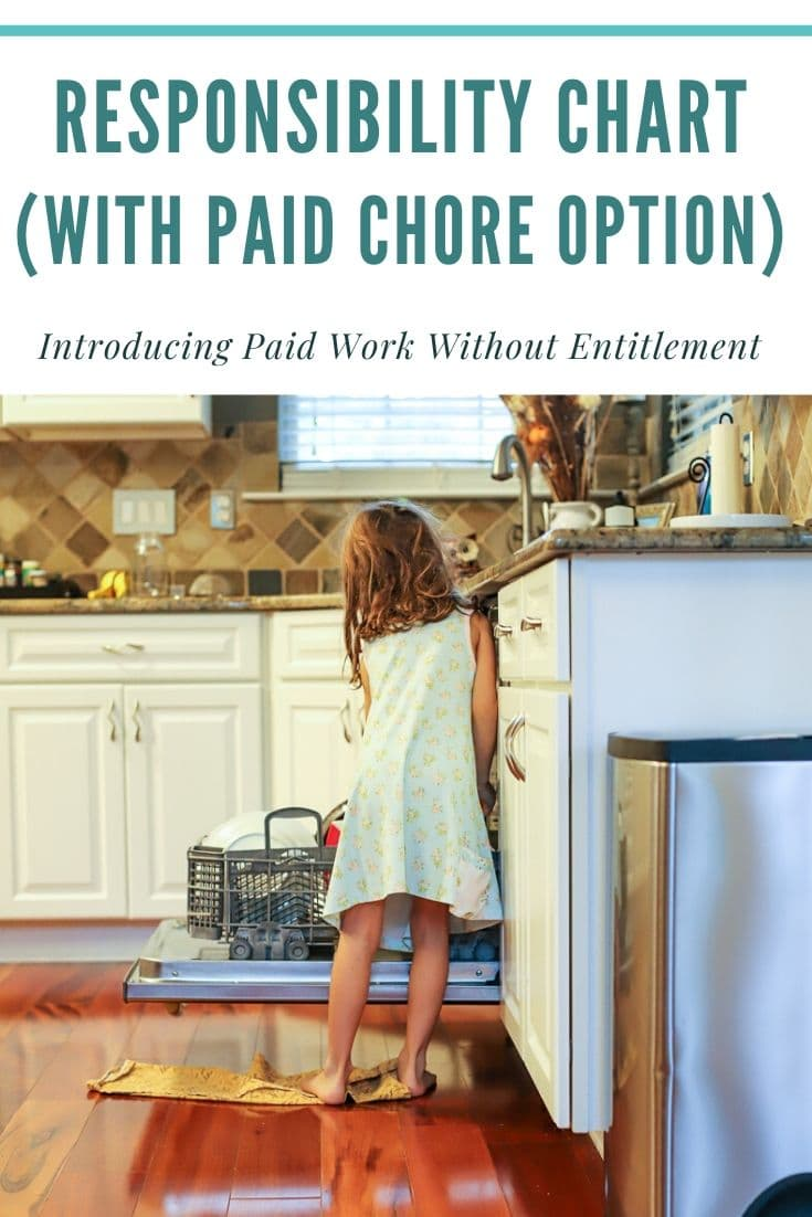 paid chore chart for kids