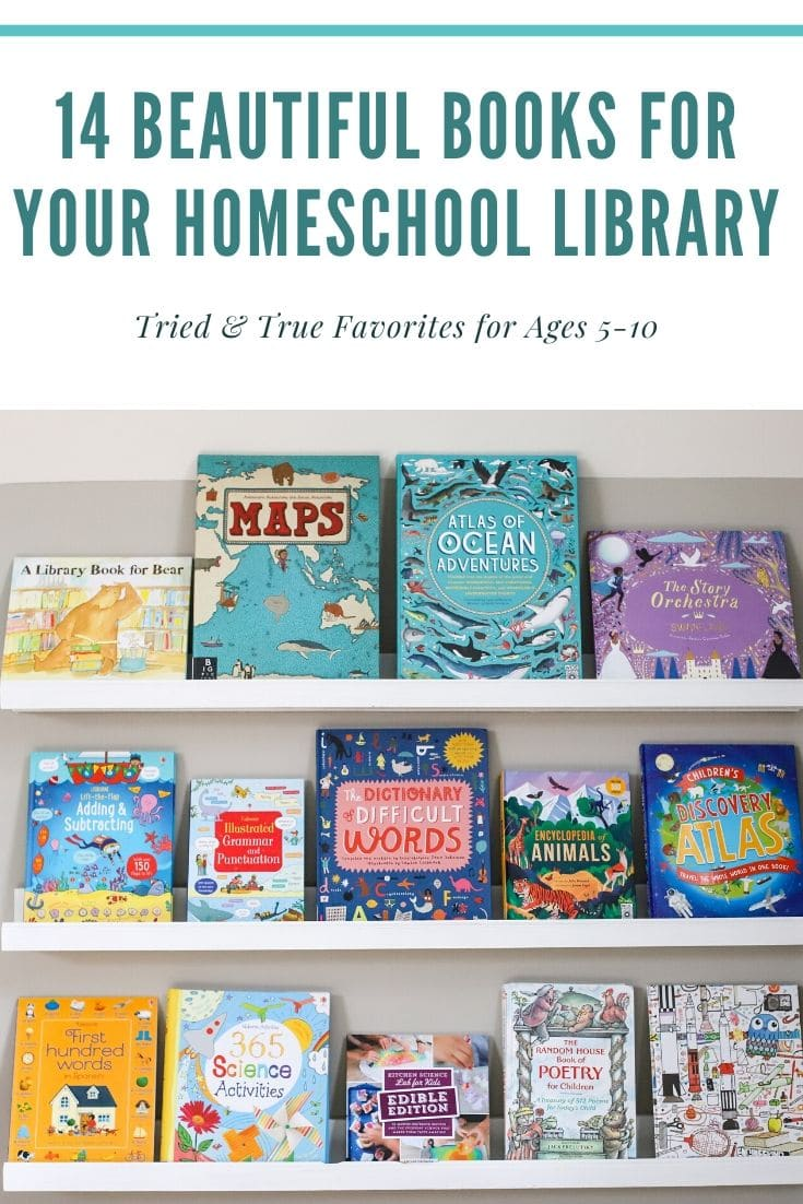 homeschool library books
