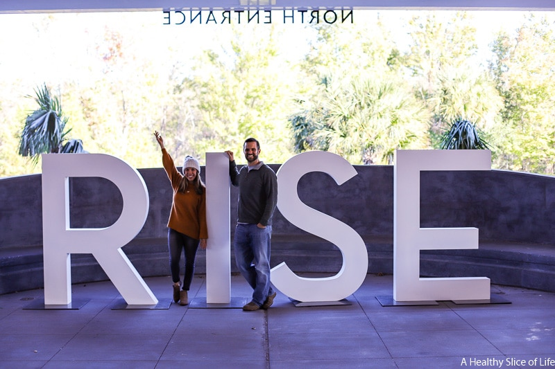 RISE sign