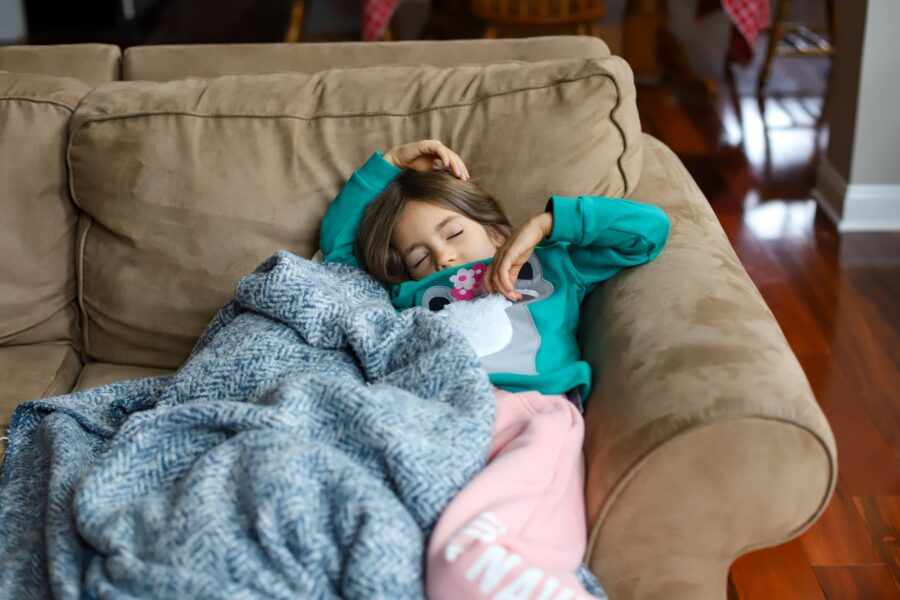 child with croup