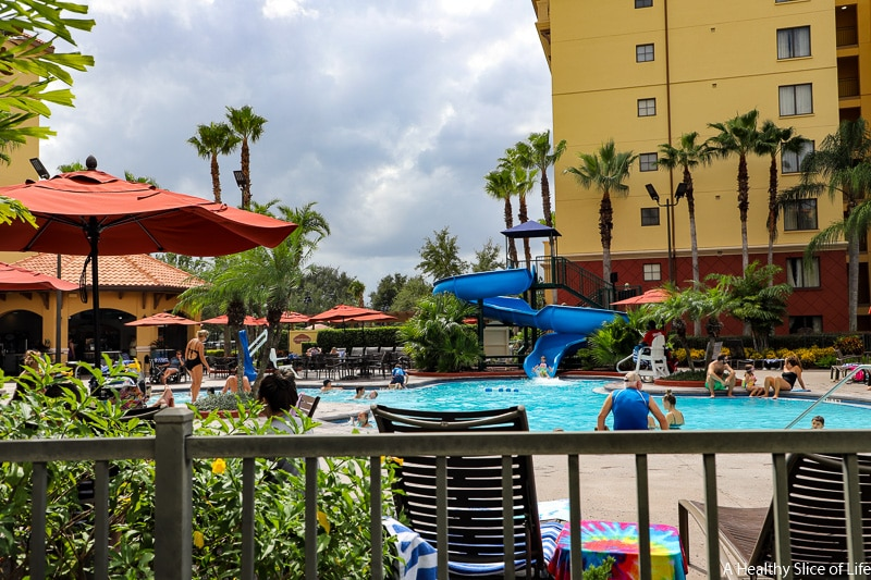 Wyndham Bonnet Creek pool