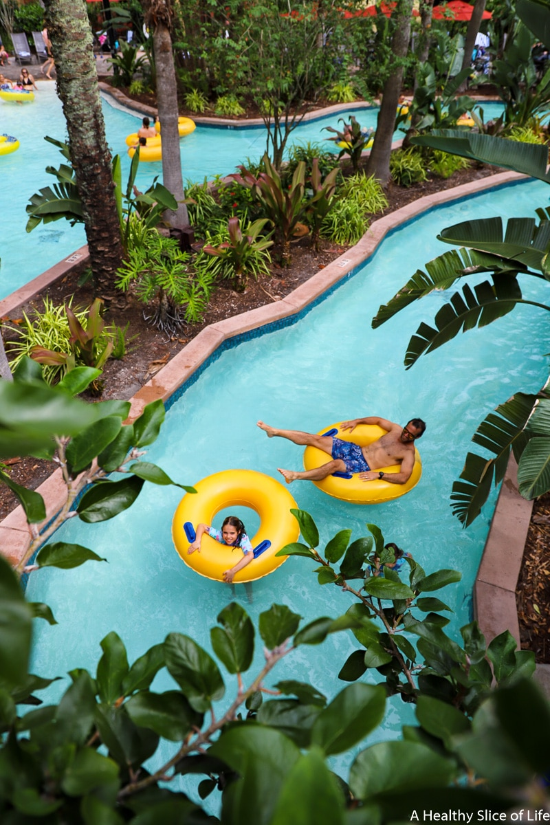 Wyndham Bonnet Creek lazy river