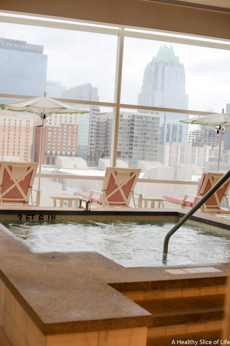 The Fairmont Austin spa