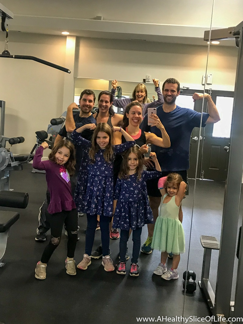 family workout Madeline Moves