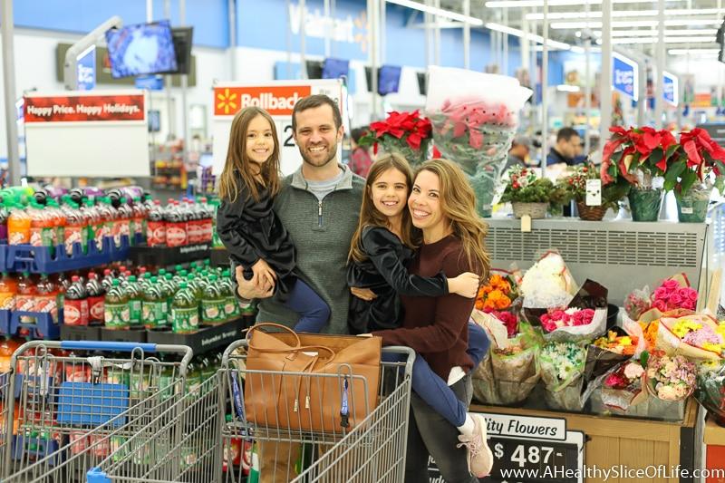 Christmas family walmart