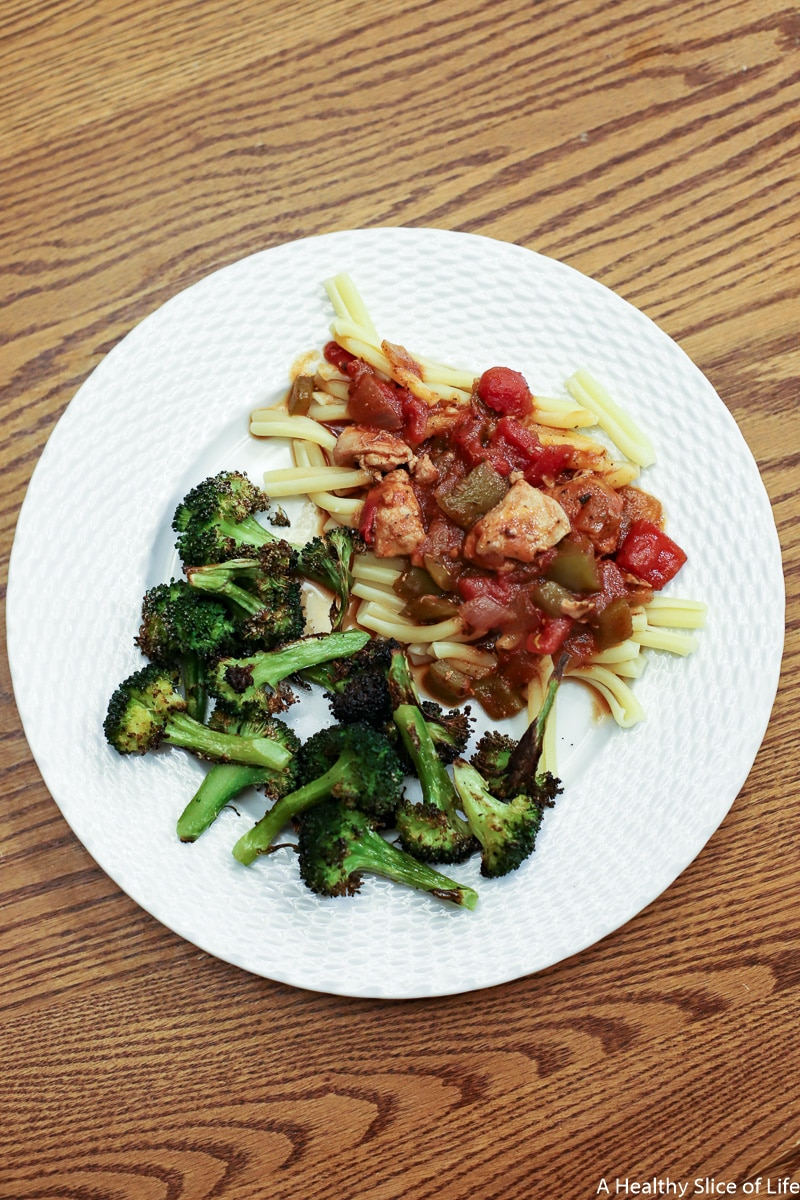 ms allie's kitchen chicken cacciatore