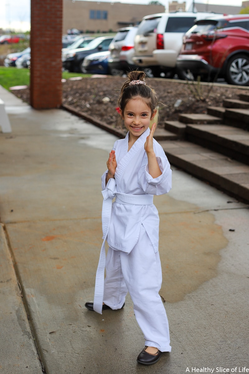 five year old taekwondo