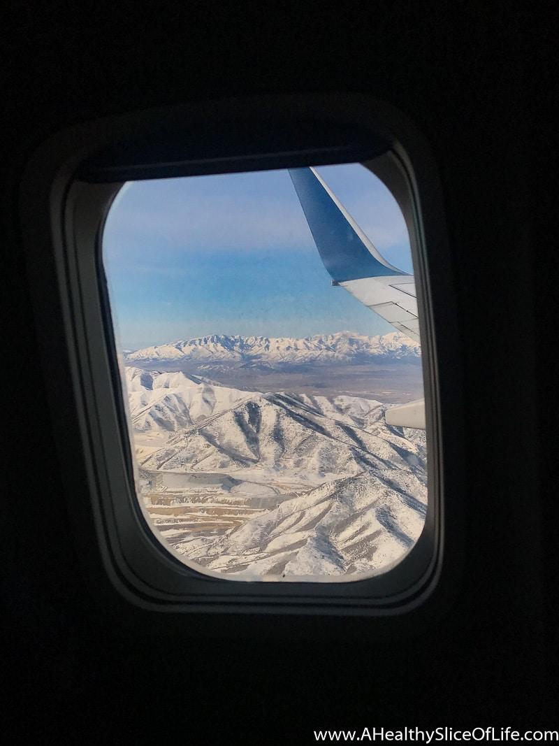 utah from plane