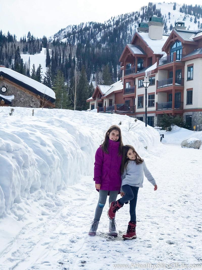 Solitude mountain village