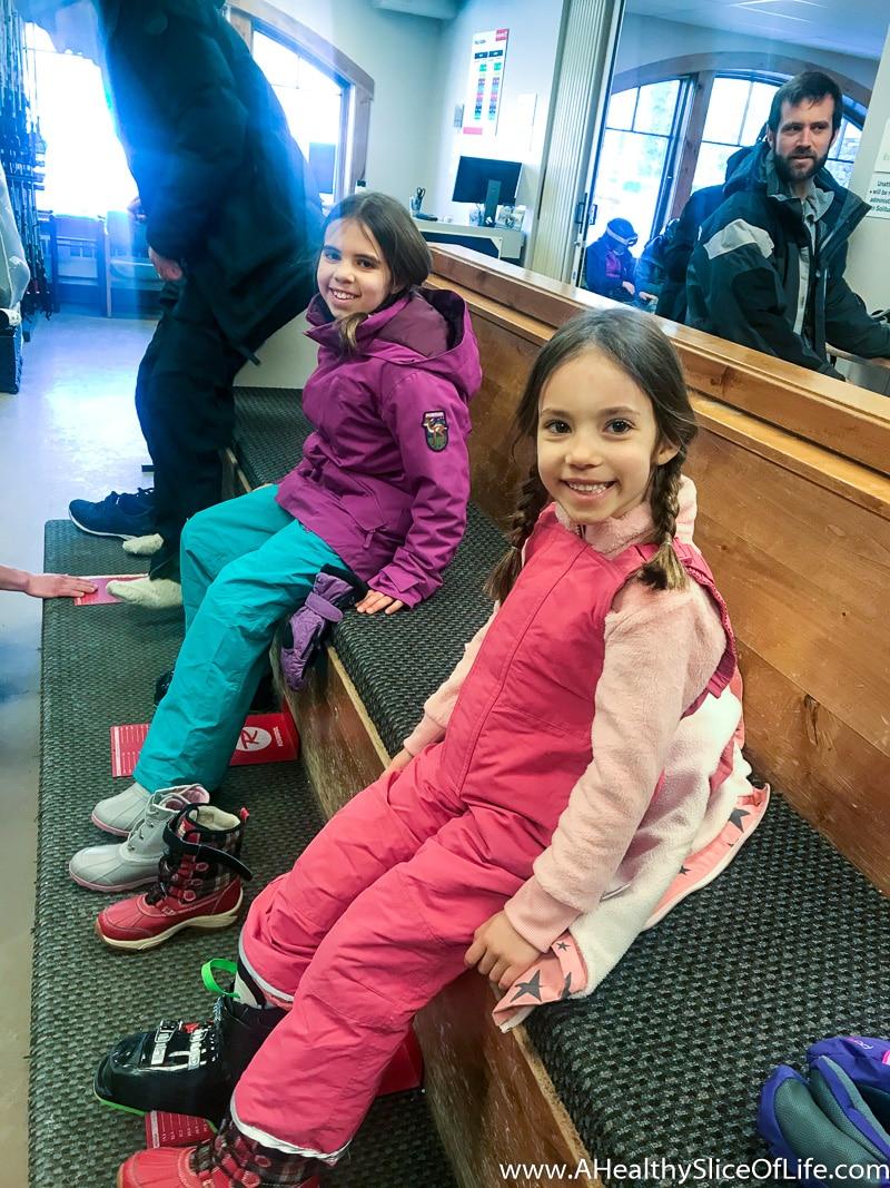 ski kids SOlitude mountain