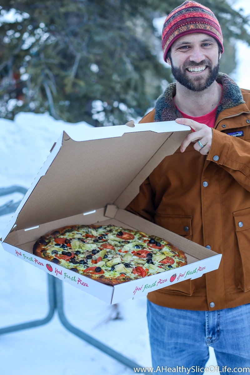 Stone Haus pizza solitude