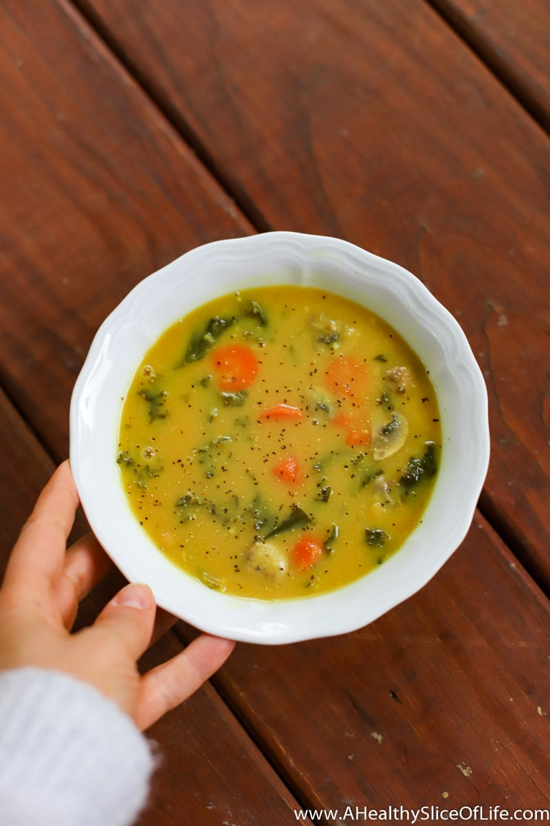 A Healthy Slice of Life - dinner - Immunity Soup