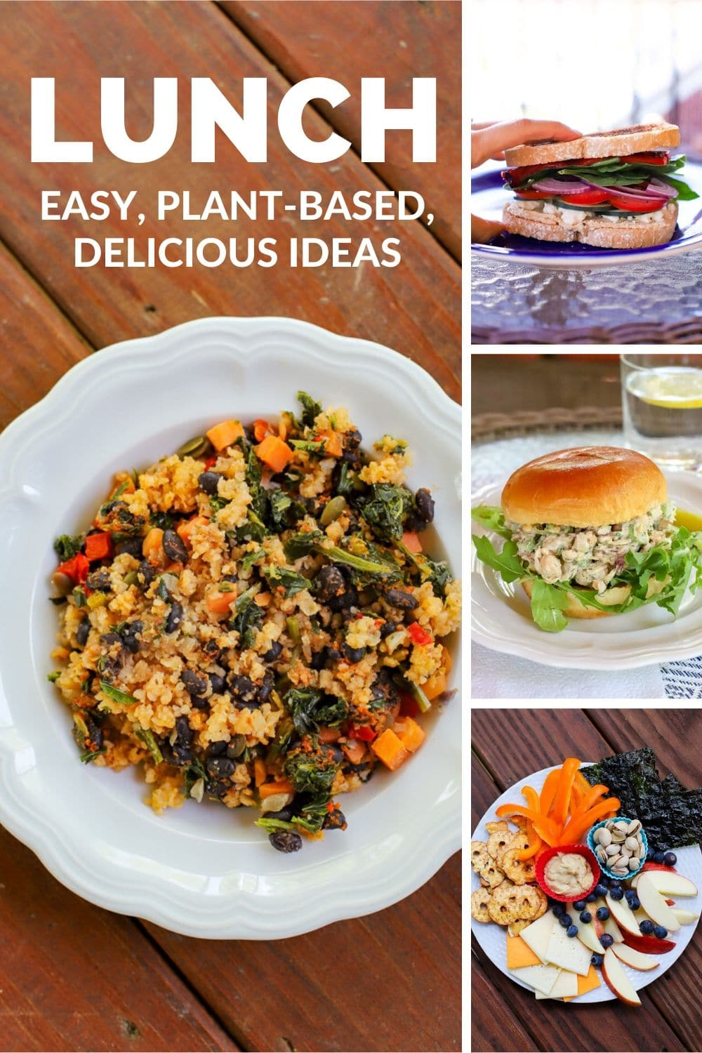 healthy lunch ideas- a healthy slice of life