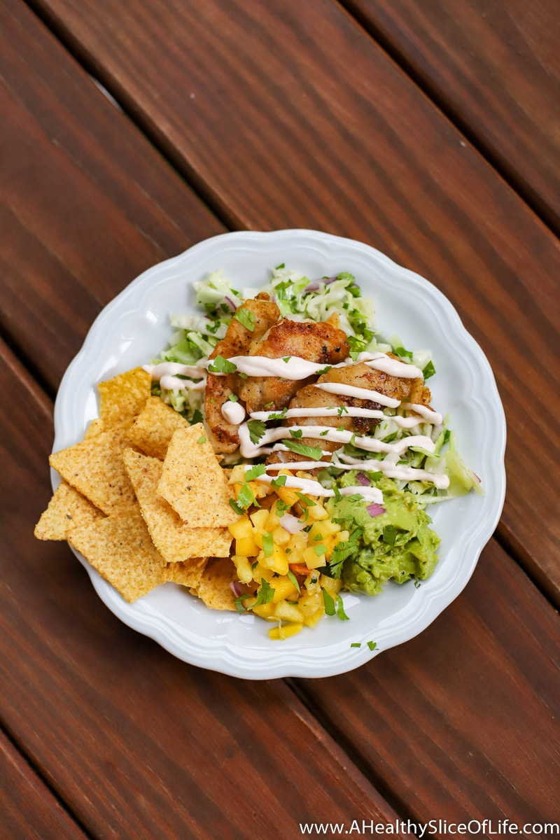 fish taco bowl sitka