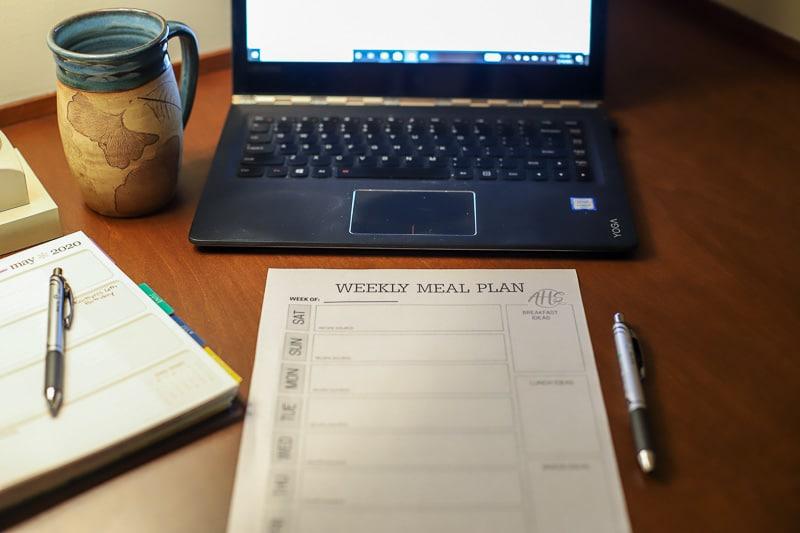 weekly meal planner (3 of 5)