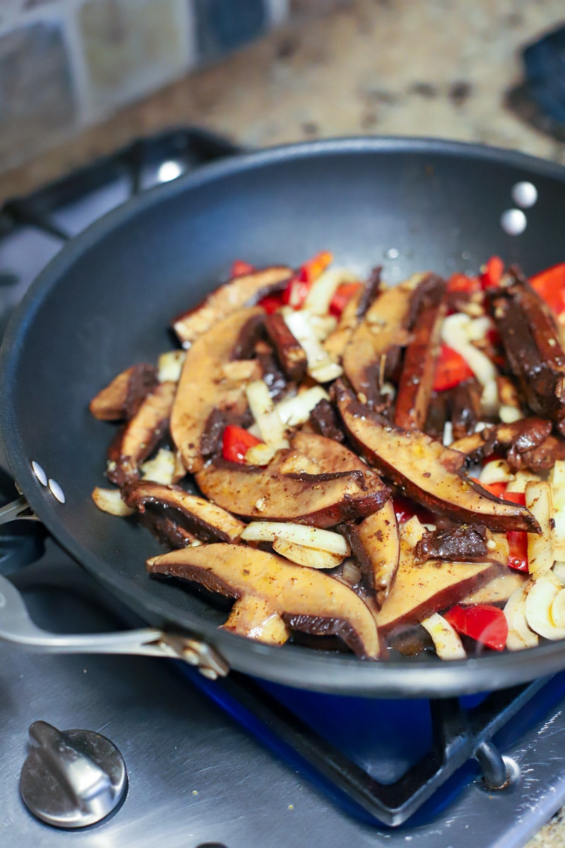 Portobello mushroom fajitas marinade and recipe- A Healthy Slice of Life (2 of 4)