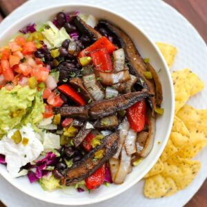 Portobello mushroom fajitas marinade and recipe- A Healthy Slice of Life (4 of 4)