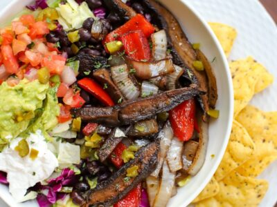 Portobello mushroom fajitas marinade and recipe- A Healthy Slice of Life (4 of 4)