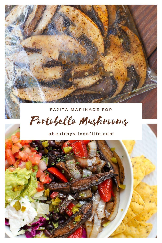 Portobello mushroom fajita marinade