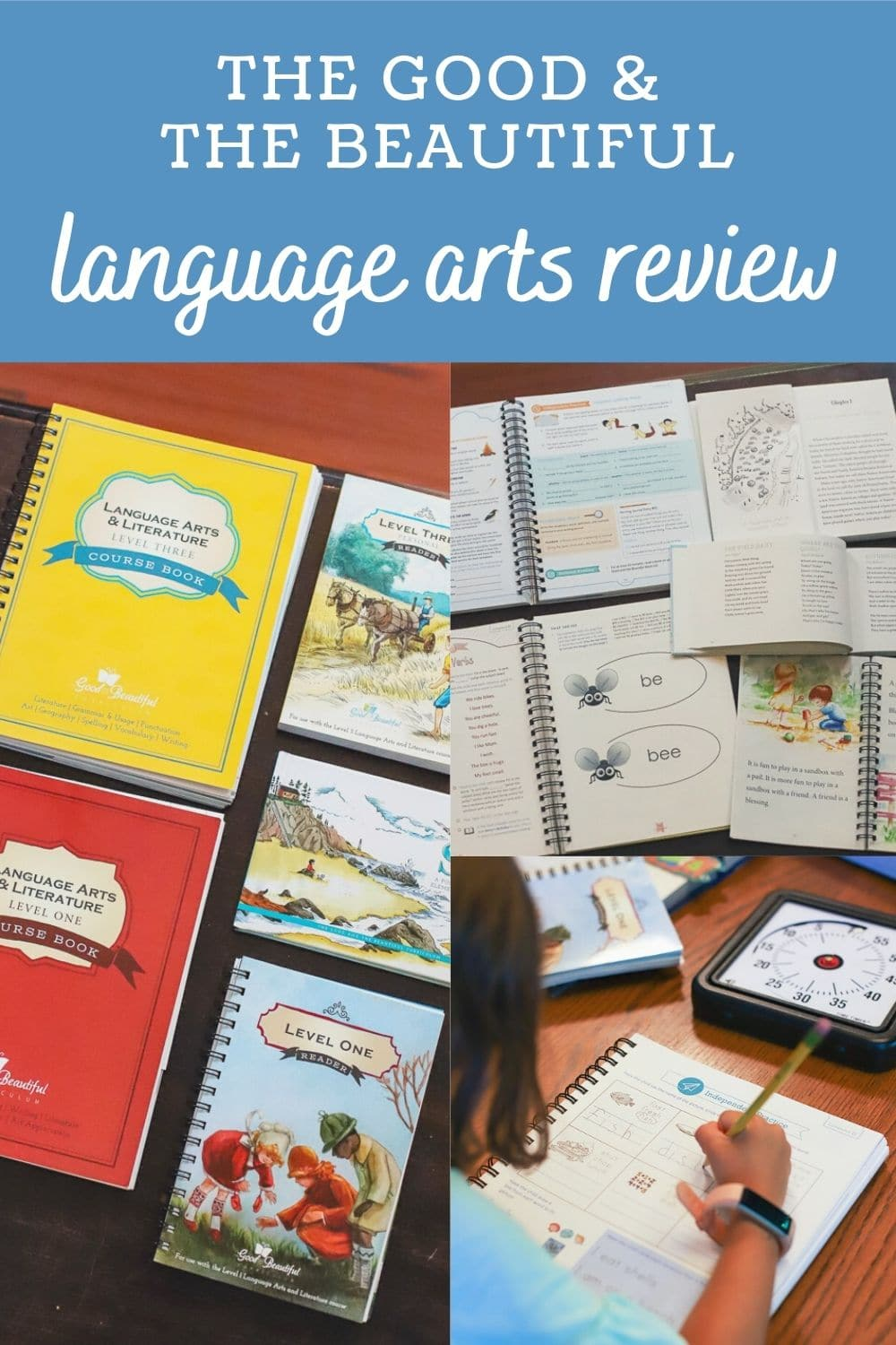 The Good and The Beautiul Language Arts Review- A Healthy Slice of Life