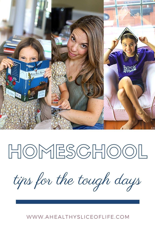 homeschool hard days- a healthy slice of life