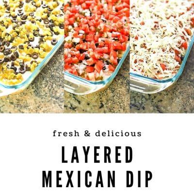 Kris' Layered Mexican Dip