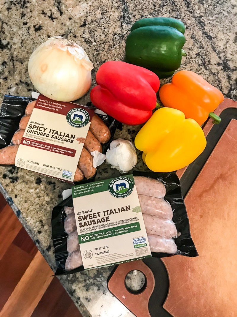 easy sausage and pepper recipe (1 of 3)