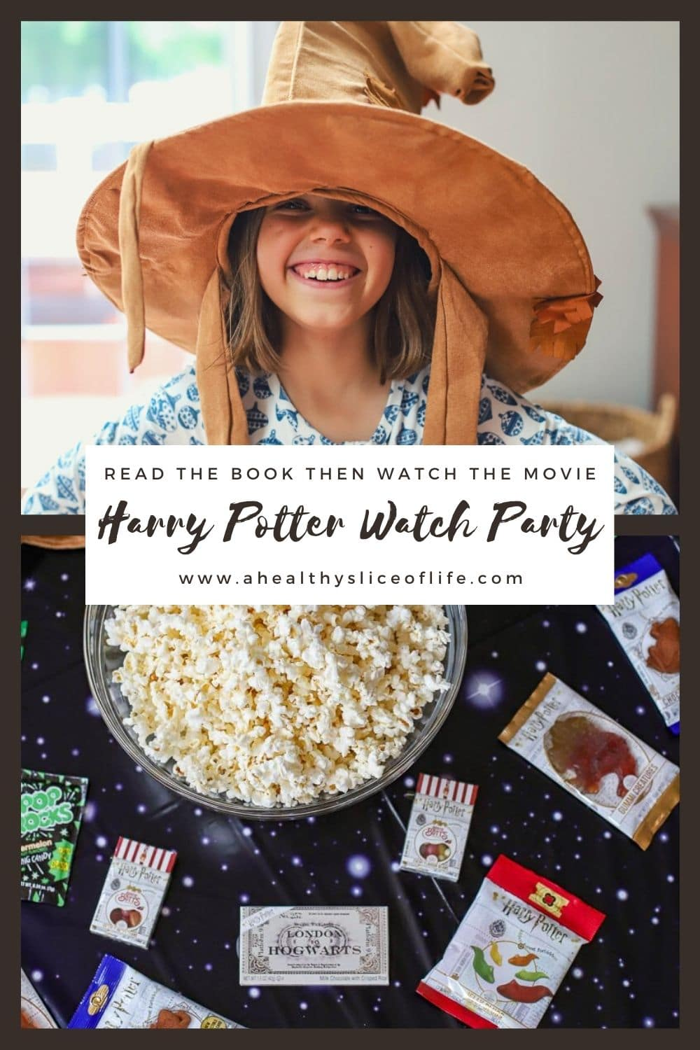 how to host a Harry Potter watch party
