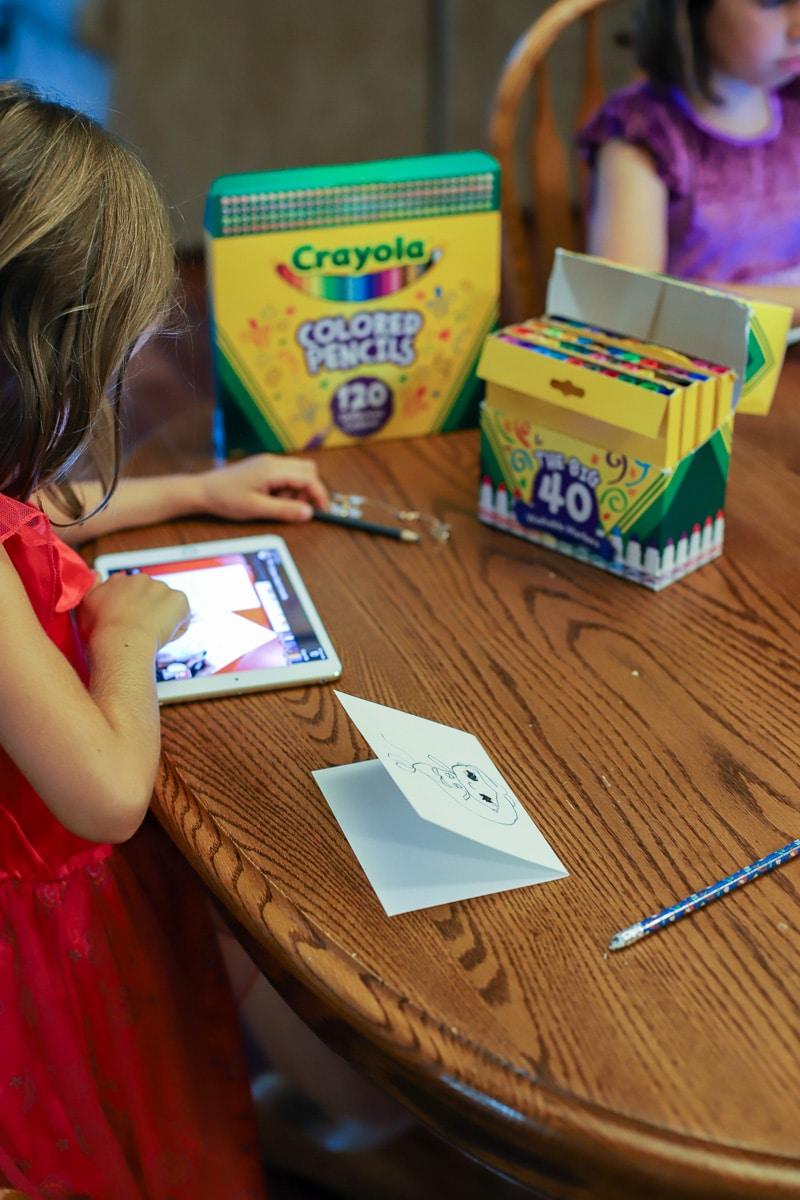 kid card making (2 of 2)