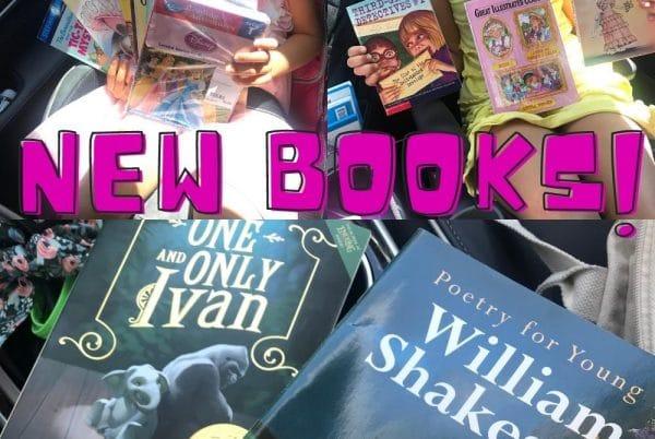 new kid books homeschool room