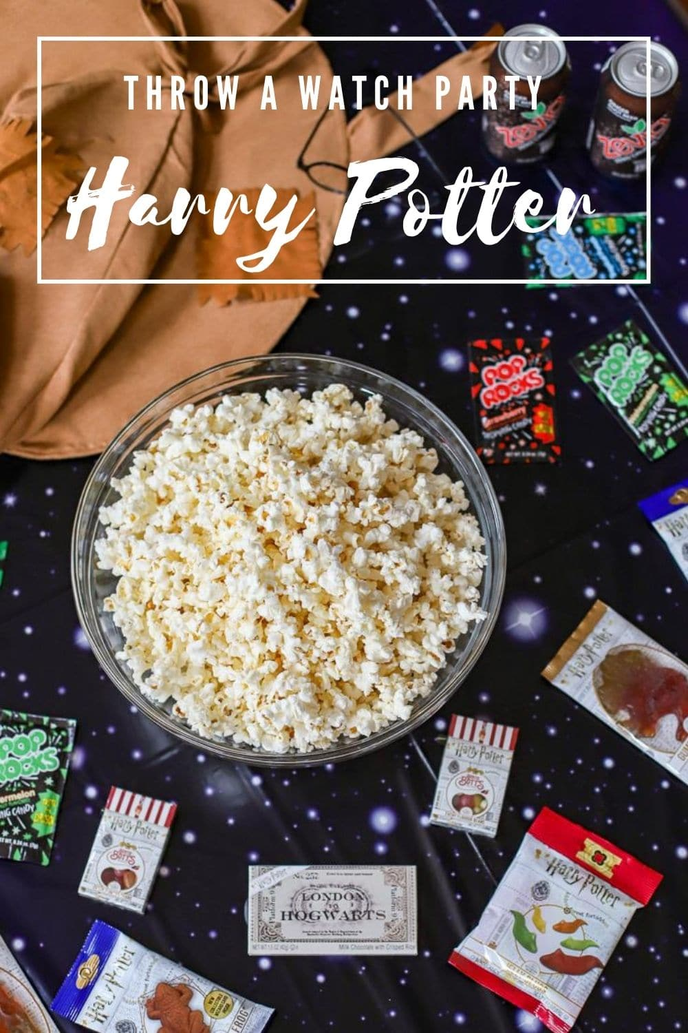 read the book watch the movie harry potter party