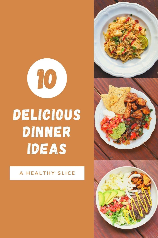 ten dinner ideas
